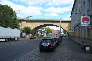 Überquerung der Georg-Schumann-Straße