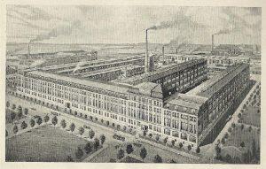 Historische Ansicht der Pittler-Werke